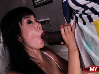 Asian pornstar anal and pay off