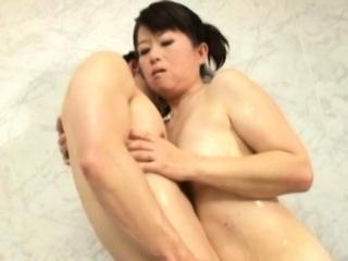 Divine girlfriend Chieko Oomura can't stop cumming detach from sex