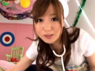 Uneasy japanese girl gets entire sportswoman in consummate pov