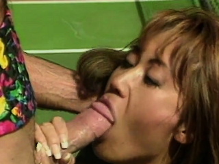 Asian MILF gets pounded on a tennis arena