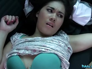 Public Agent Lin Lee Asian Cutie Fucked by a Stranger