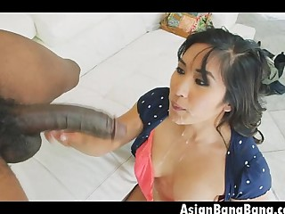 Asian Mia Li Anal Fuck And Facial From Black Dick