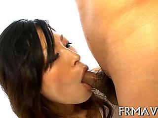 Soaked and randy Oriental deepthroat HD Porn Vids