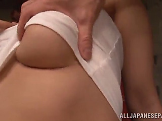 Trio sex for the hot japanese mother i'd like to fuck madoka nanao